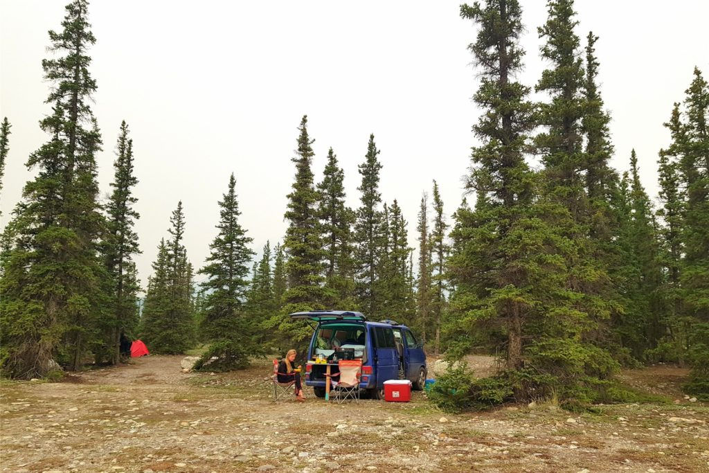 Das Camper-Leben in Nordamerika.