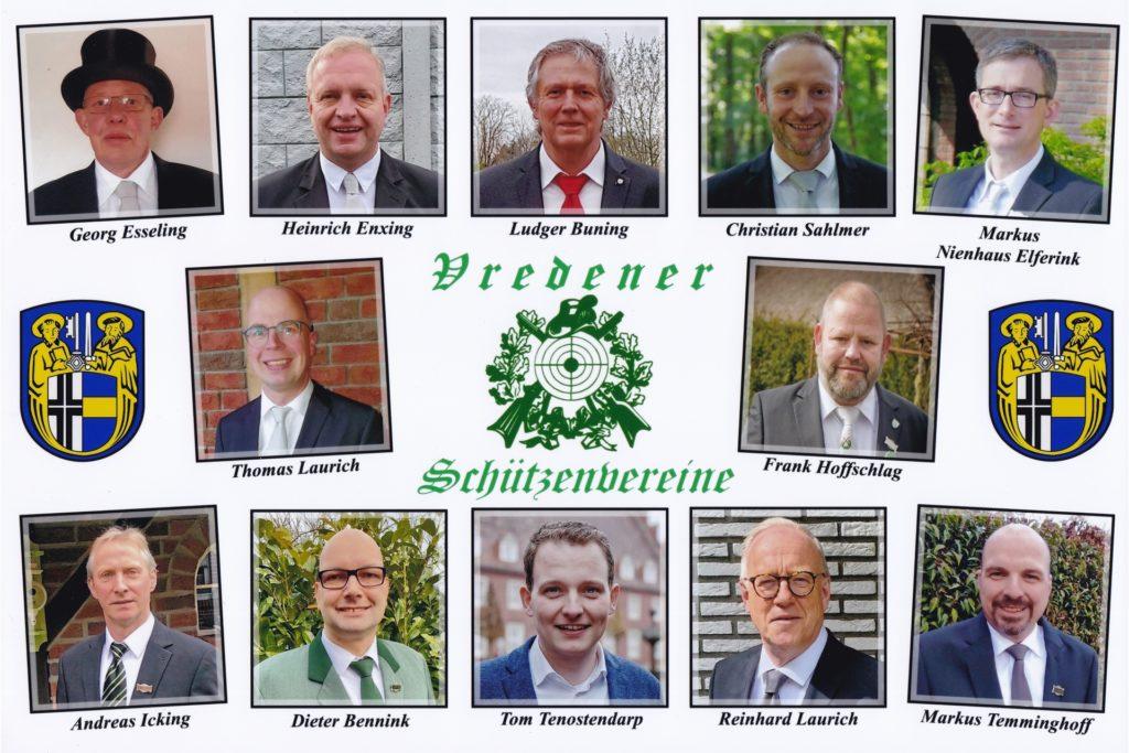 Alle Vorsitzenden der Vredener Schützenvereine und Bürgermeister Tom Tenostendarp haben gemeinsam entschieden, 2021 keine Schützenfeste zu feiern.