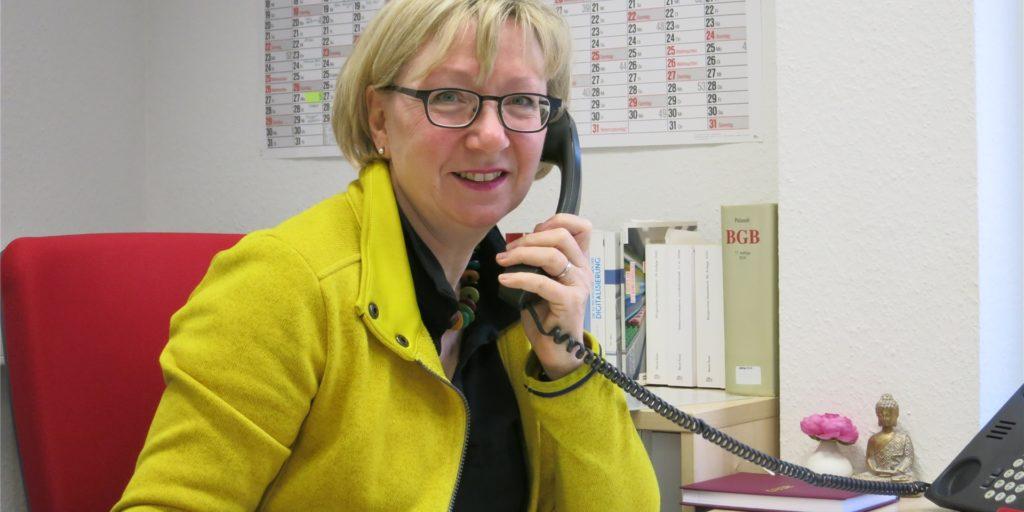 Rose Sommer leitet die Verbraucherzentrale in Castrop-Rauxel.
