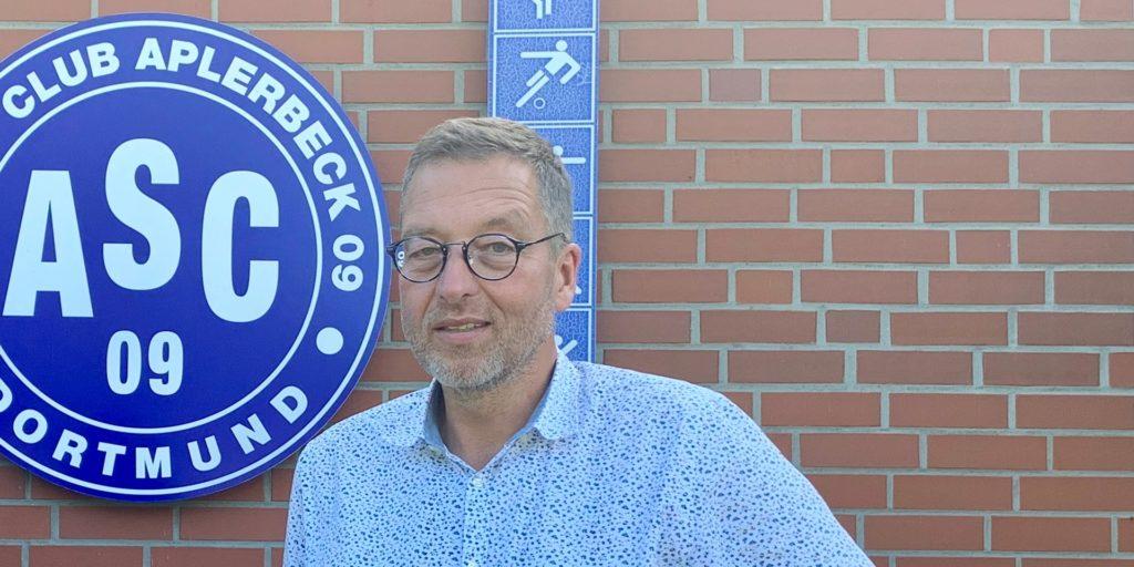 ASC-Vorsitzender Michael Linke ist in einem Sportschau-Beitrag zu sehen.
