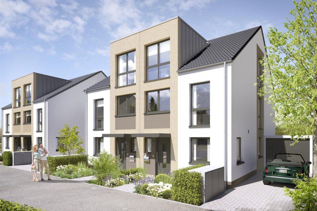 Die Dornieden-Gruppe realisiert an der Recklinghauser Straße ein Neubauprojekt mit insgesamt 179 Einfamilienhäusern.