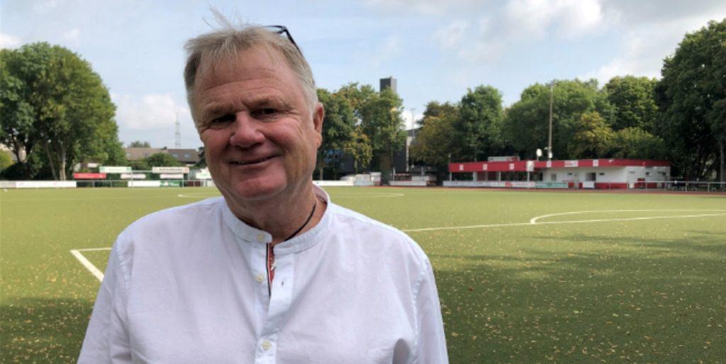 Der Vorsitzende des SV Brackel 06, Olaf Schäfer, macht sich in der Corona-Krise Gedanken über die Zukunft seines Vereins