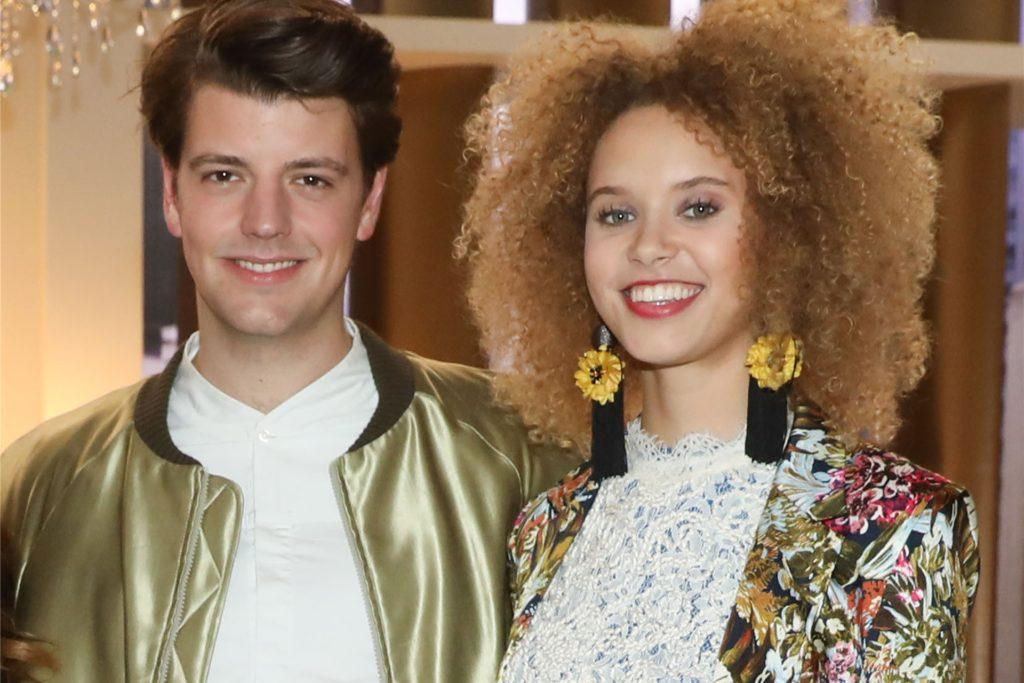 Taynara Wolf ist mit ihrem Schauspielkollegen Anno von Heimburg zusammen, den sie bei den Dreharbeiten für eine Fernsehserie kennengelernt hat.