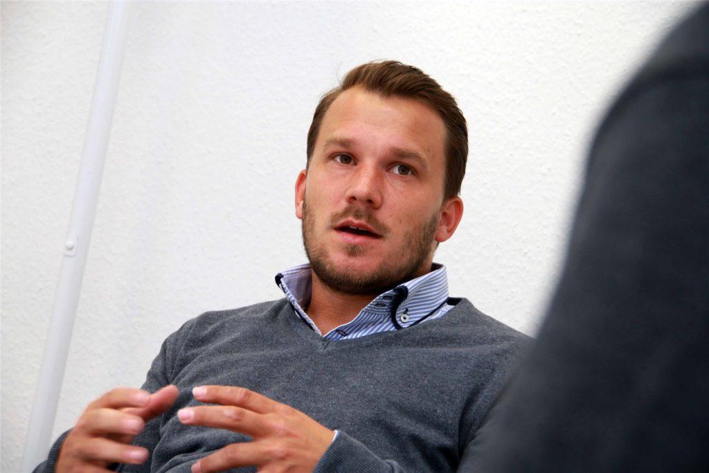 Marc Olschewski, Trainer beim VfB Habinghorst, ist eingefleischter Bayern-Anhänger und Hansi-Flick-Fan.