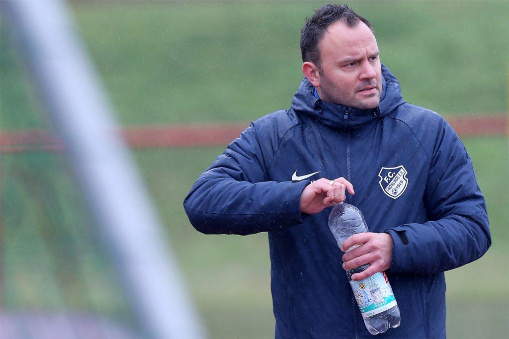 Jimmy Thimm, der künftige Landesliga-Trainer des FC Frohlinde.