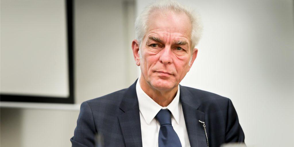 Rudolf Mintrop war in Oldenburg Chef der Klinik, an der Todespfleger Niels Högel mordete.