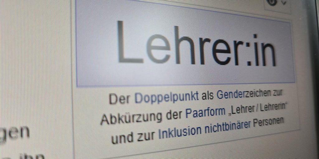 Der Genderdoppelpunkt soll bei der Stadt Lünen nur in Ausnahmefällen verwendet werden.