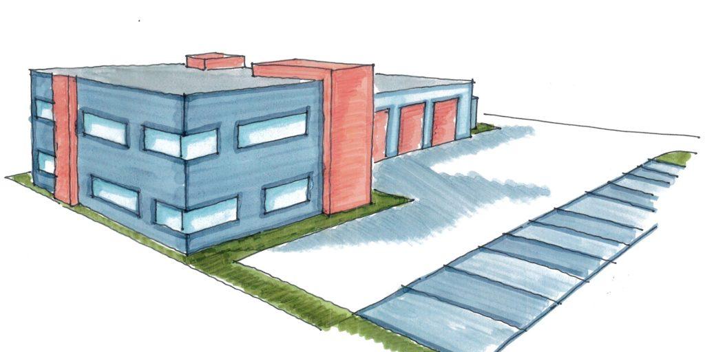 Die Rettungswache in Selm ist über den Planungsstatus noch nicht hinaus. Die Stadt will jetzt selbst bauen - der Rat der Stadt Selm muss das aber erst noch beschließen.