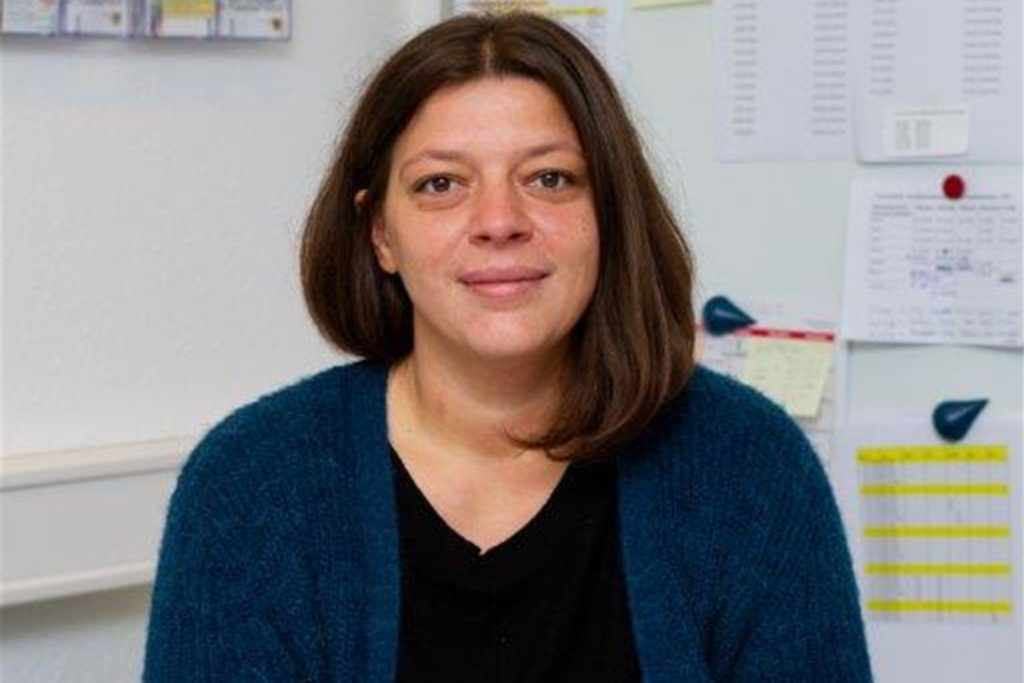 Ilda Kolenda ist die Leiterin des Angebotes für Nutzerinnen innerhalb der Frauenübernachtungsstelle an der Nortkirchenstraße.