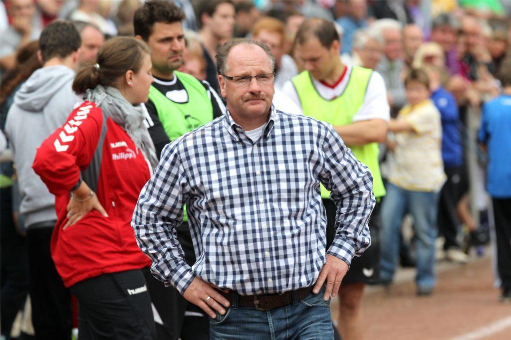 Andreas Maurer half als Sportlicher Leiter dabei mit, den Abstieg der SG Castrop in die Kreisliga B zu verhindern.