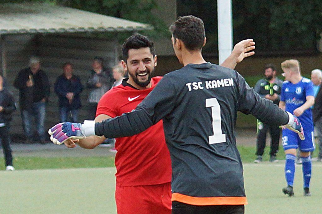 Kenan Özkan spielte auch schon für den TSC Kamen auf, wo er auch Spielführer war.