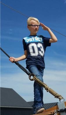 Fynn Born, ein ganz normaler zehnjähriger Junge aus Castrop-Rauxel. 2018 erkrankte er schwer.