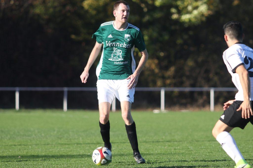 Marian Tüns wird nicht nur Spieler, sondern auch Co-Trainer beim SV Herbern II.