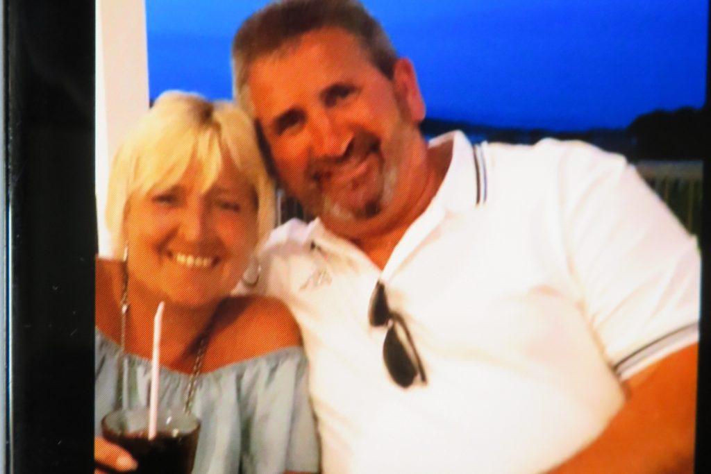 Dieter Weinand zusammen mit Ehefrau Birgit.