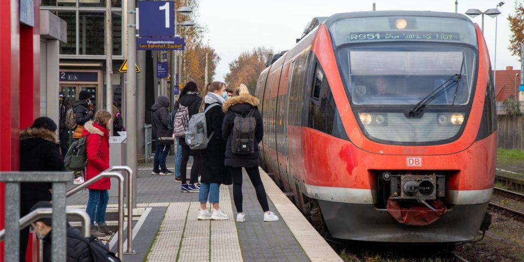 Der Bahnhof in Ahaus soll durch Videoüberwachung sicherer werden.