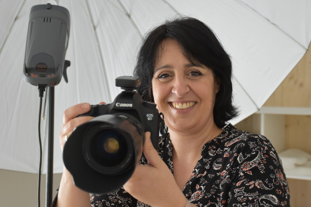 In ihrem Fotostudio bietet Natalia Walfort Familien- und Kindershootings, Portraitaufnahmen und auch Businessshootings an.