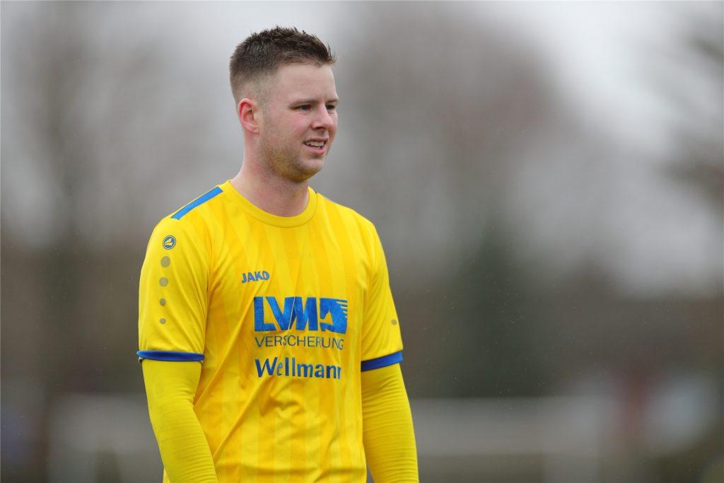Fabian Vogt (25) ist Spieler beim SV Herbern und Fan von Borussia Dortmund.