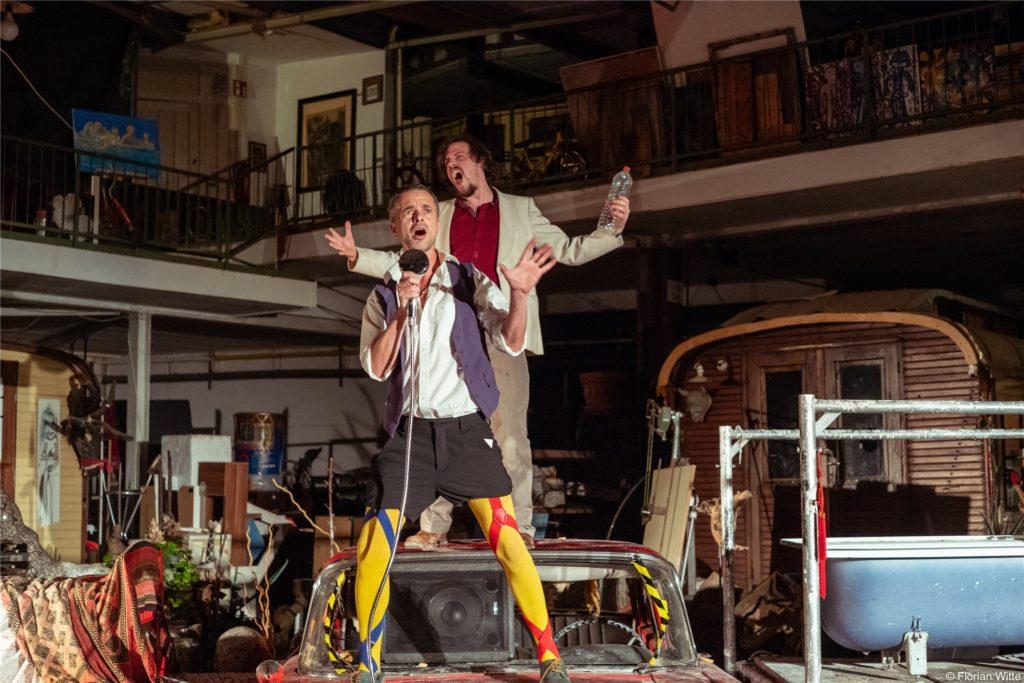 Auf der Bühne schätzt er vor allem die Nähe zum Publikum.