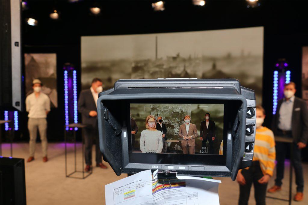 Per Live-Stream wurde das Bürgerforum am Dienstagabend (11. Mai) übertragen. Aufgrund der Corona-Krise konnte die Veranstaltung nicht wie zunächst vorgesehen im Kolpingsaal in Werne stattfinden.
