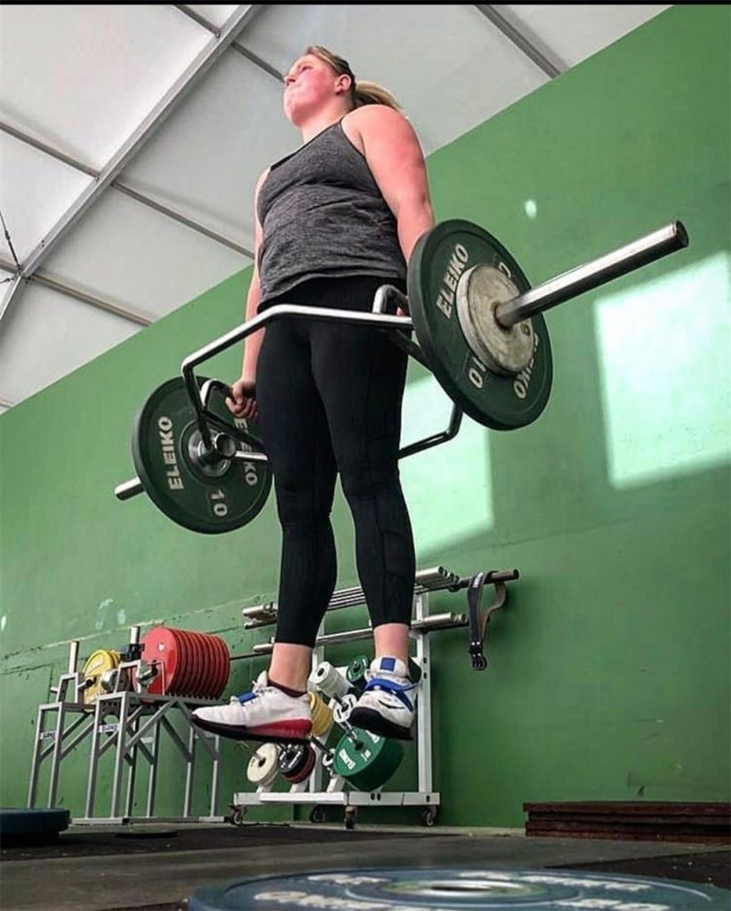 Nach ihrer Covid-Erkrankung ist die 23-jährige Oberadenerin wieder fit - und bereit für Wettkämpfe.