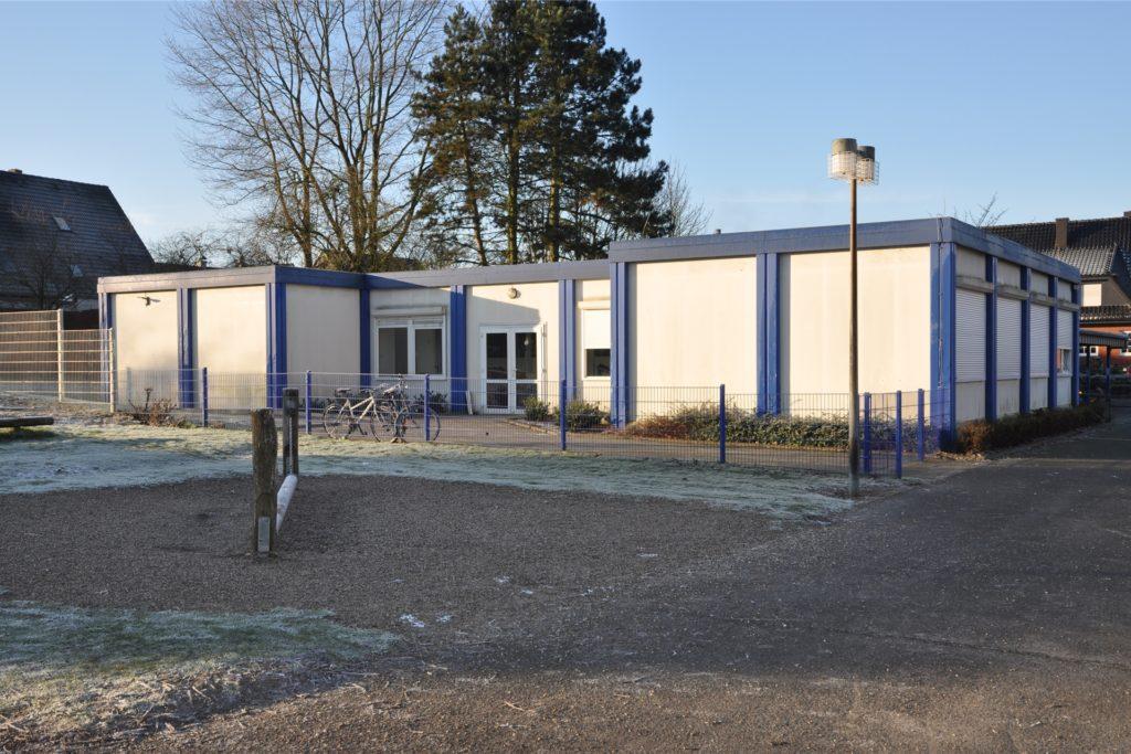 Aus den leerstehenden Pavillons an der Brigidenschule soll bald eine Übergangslösung für eine Kita entstehen.