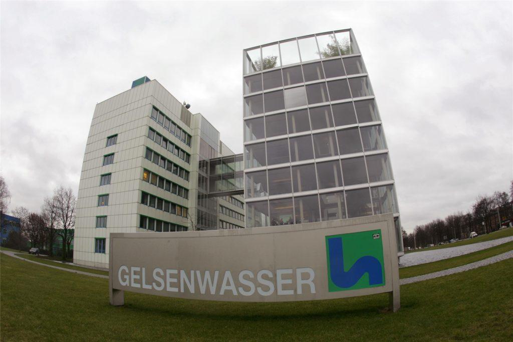 Am Verwaltungssitz der Gelsenwasser AG in Gelsenkirchen wird eine Impfstraße eingerichtet