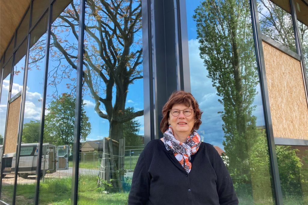 Pfarrerin Antje Wischmeyer ist mit dem jetzigen Stand der evangelischen Kirche schon zufrieden.