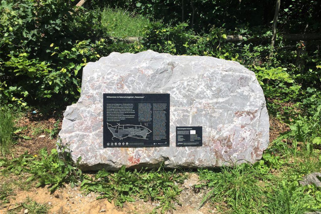 Das Felsenmeer Hemer ist ein beliebtes Ausflugsziel.