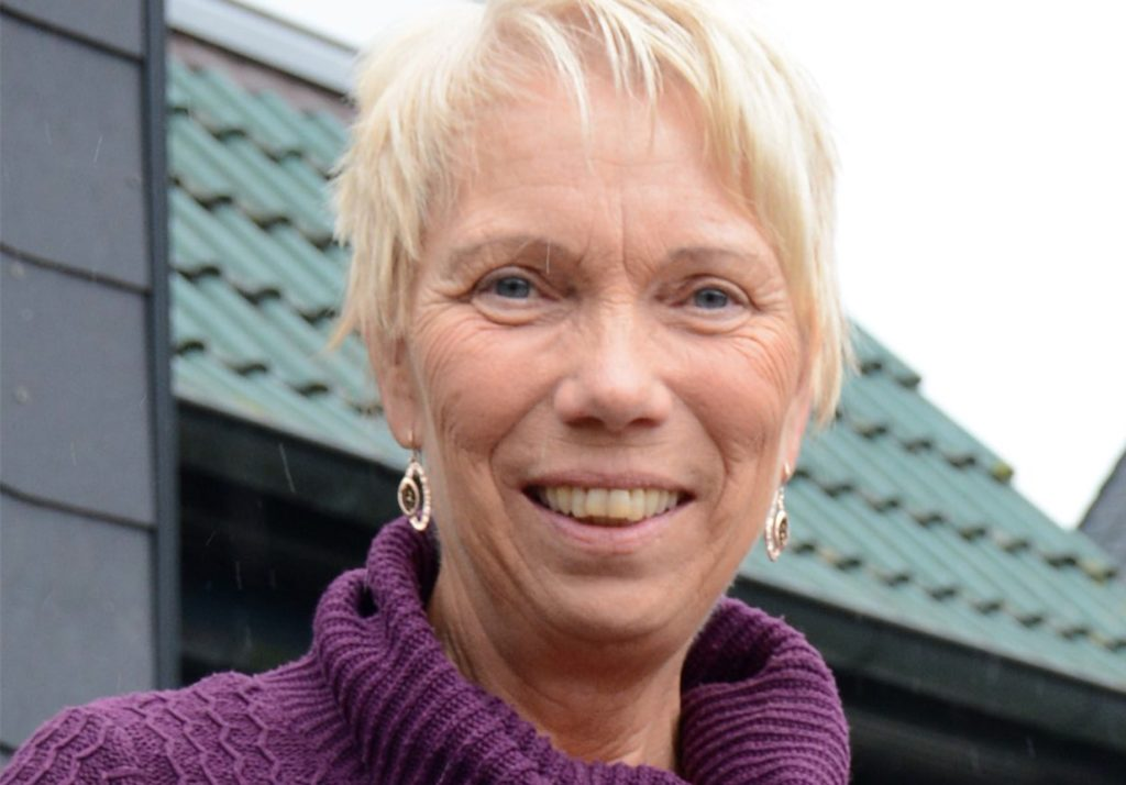 Christa Bijmholt engagiert sich für die Anliegen von Amnesty international.
