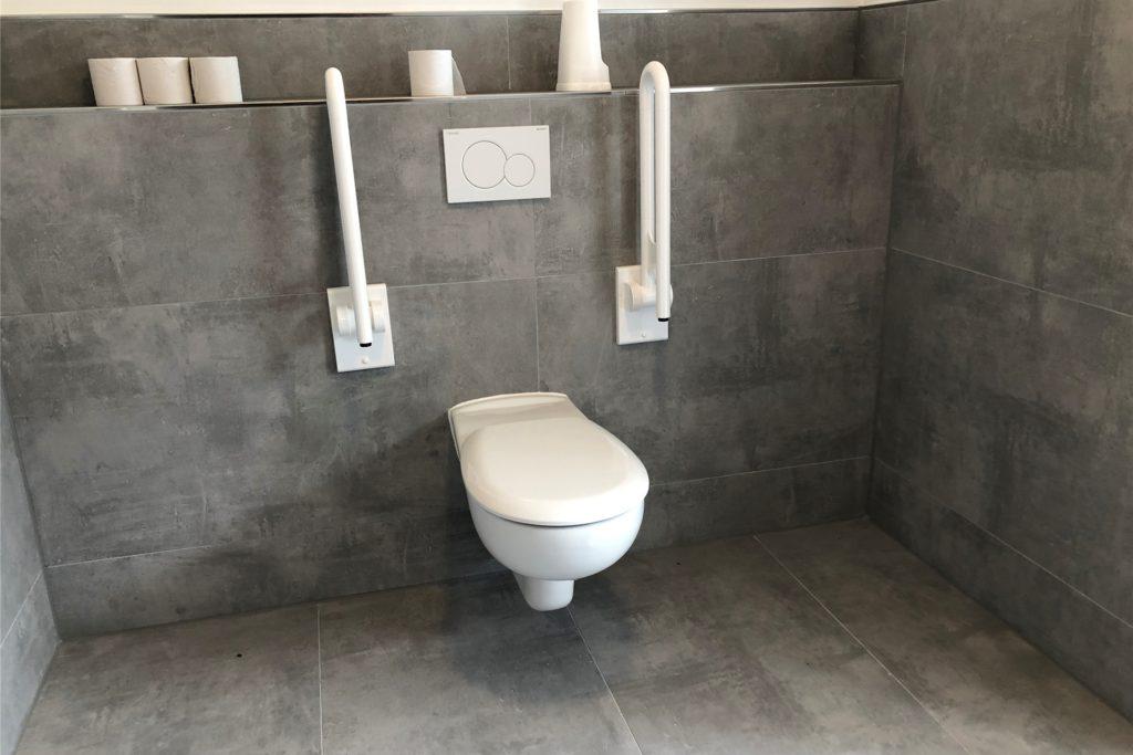 Der SV Brackel 06 hat eine behindertengerechte Damen-Toilette eingerichtet