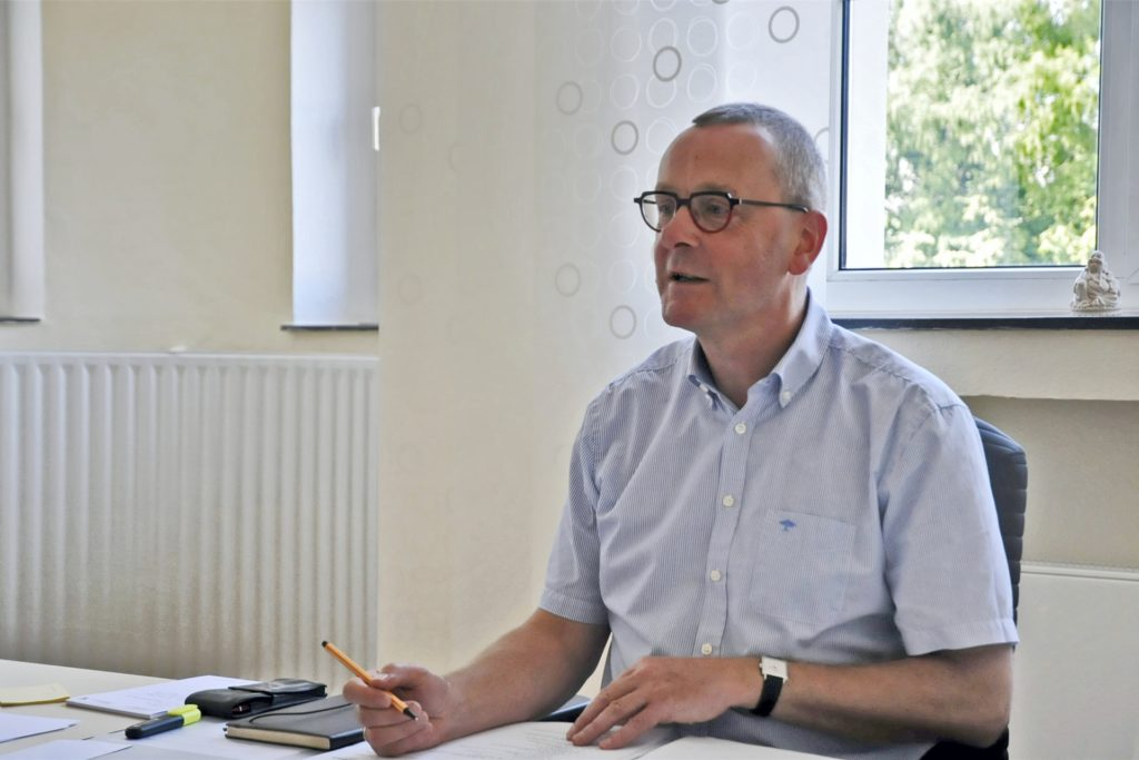 Joachim Höck, Schulleiter des ASG in Castrop-Rauxel.