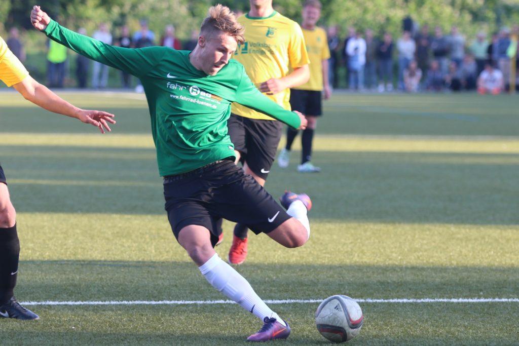Im Trikot des PSV Bork schoss Joel Grodowski in zwei Spielzeiten fast 100 Tore.