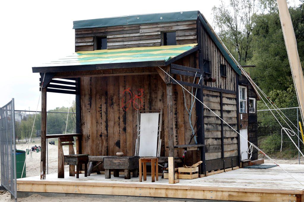 Auch das  Discuvry Haus von Yukihiro Taguchi und Chiara Ciccarello in der Ausstellung Ruhr Ding Klima kann ab Mittwoch besichtigt werden.