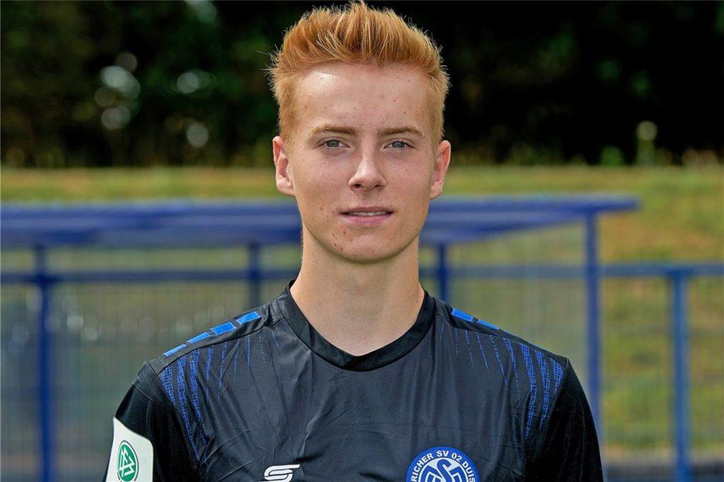 Roman Schabbing ist jetzt Profi beim MSV Duisburg.