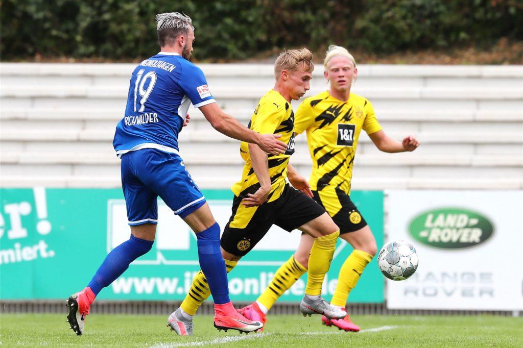Philipp Harlaß verlässt den BVB nach einem Jahr wieder.