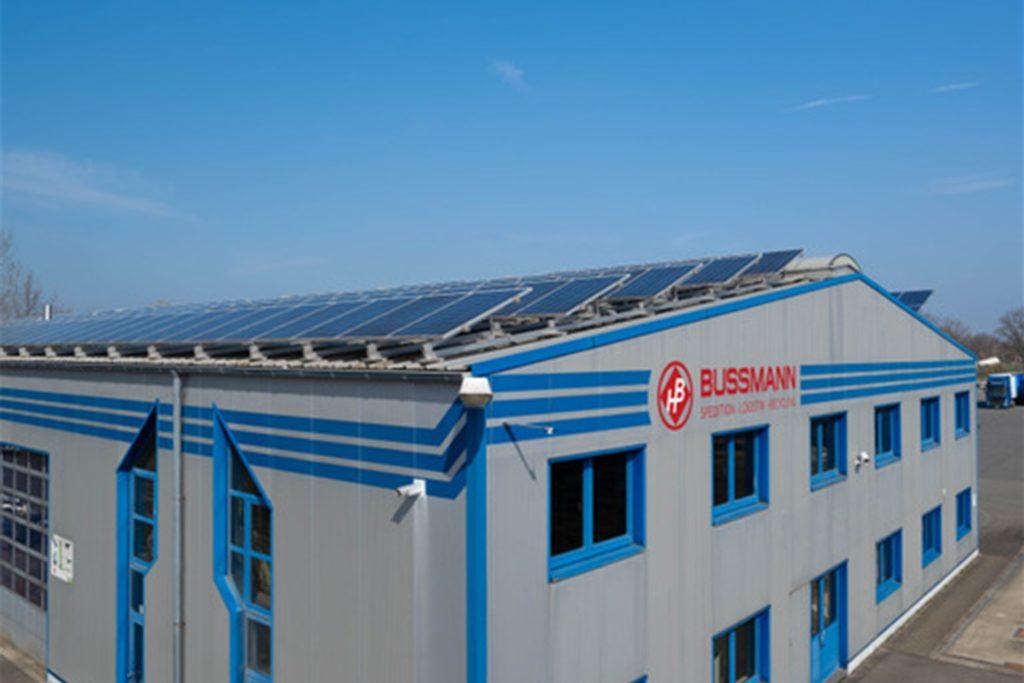 Die Photovoltaikanlage ist Teil des Gesamtpakets.