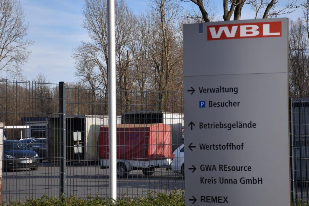 Auf dem Wertstoffhof der WBL an der Josef-Rethmann-Straße 2 können Lüner ihren Müll abgeben.