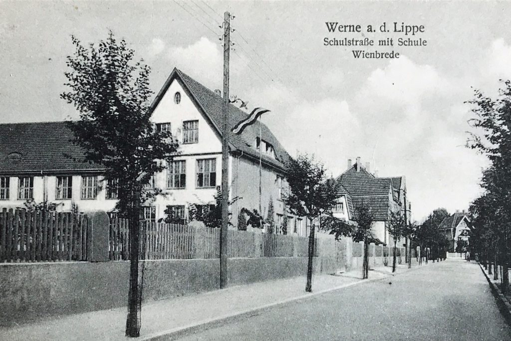 Die Wienbrede-Schule in den 20er Jahren des vorigen Jahrhunderts.
