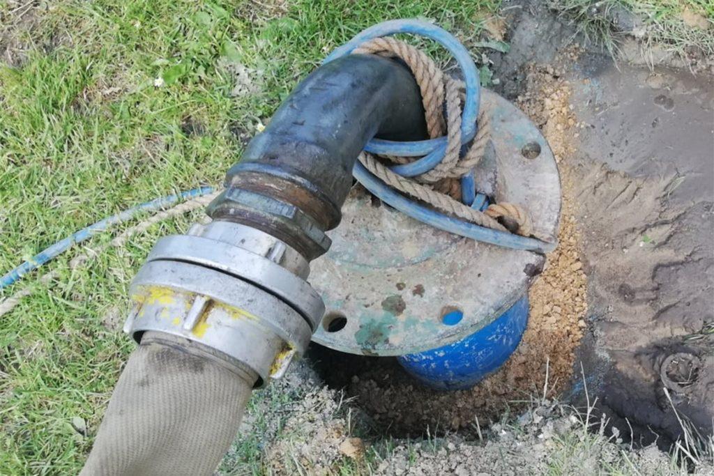 Die Wasserleistung der neuen Pumpe soll 27 Kubikmeter pro Stunde betragen.