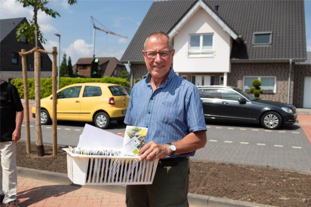 Bezirksbürgermeister Ludger Schnieder freut sich, dass es trotz der Startschwierigkeiten bald losgeht.