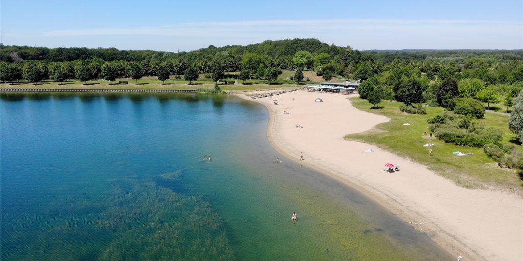 Der Horstmarer See ist seit dem 14. Juni wieder für Badegäste freigegeben.