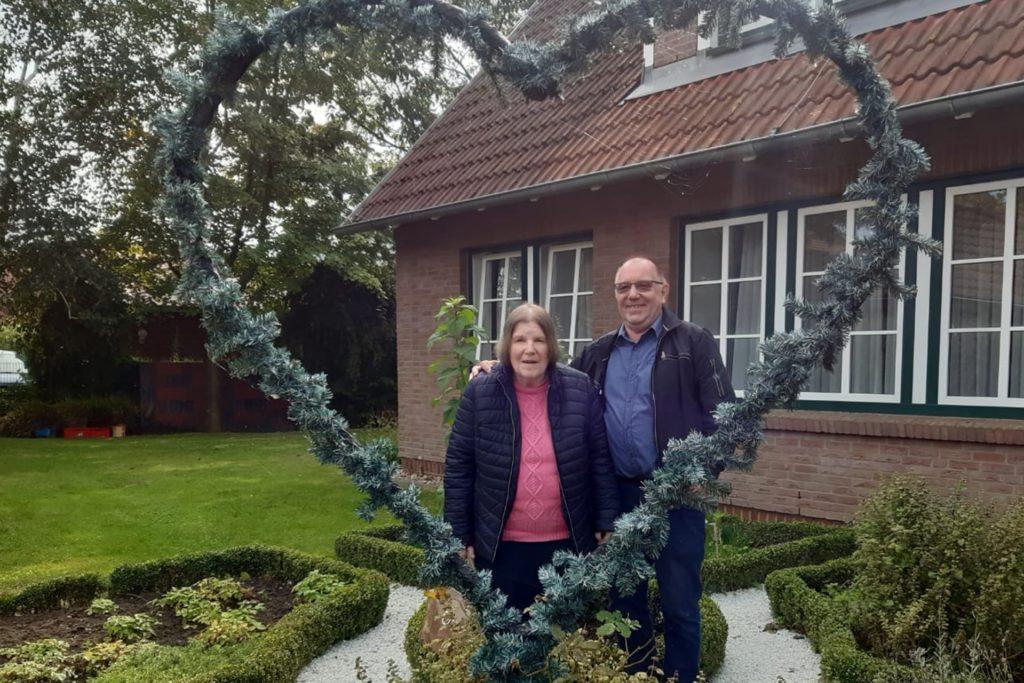 Aus glücklicheren Tagen: Heinz Hessing mit seiner verstorbenen Frau Antje Hessing.