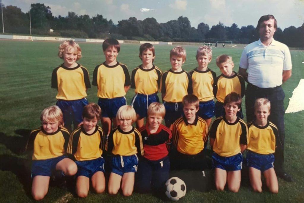 BW Wulfen, E-Jugend der Saison 87/88