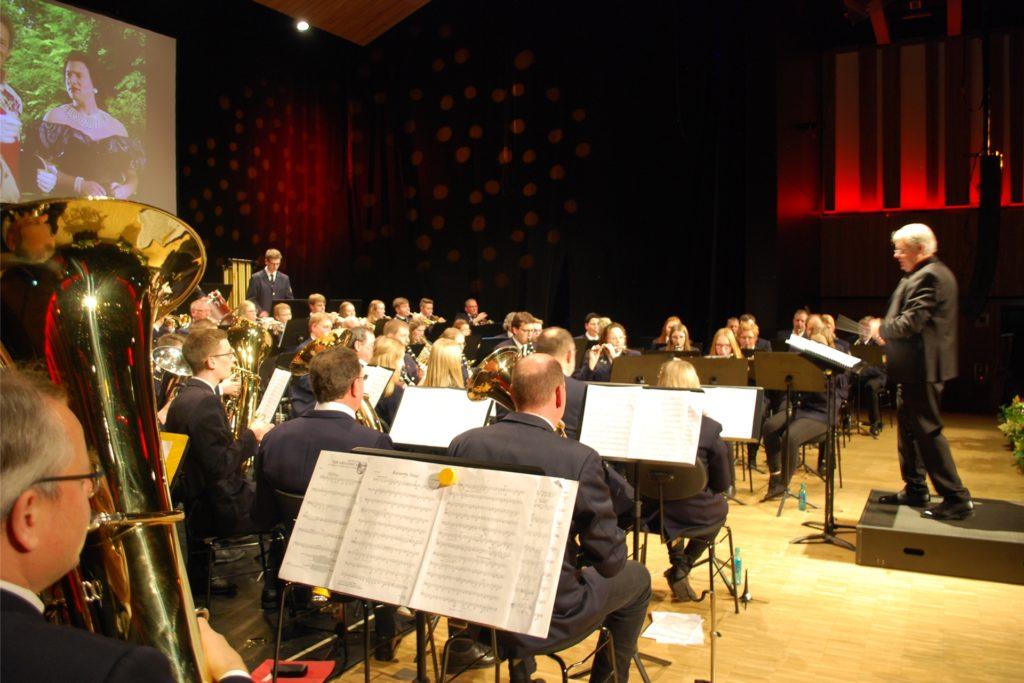 Große Konzerte in der Stadthalle – hier das Jahreskonzert 2019 des Feuerwehrmusikzug – gehören natürlich in die Stadthalle. Für weitere Projekte ist in der Verwaltung im Moment nur wenig Zeit.