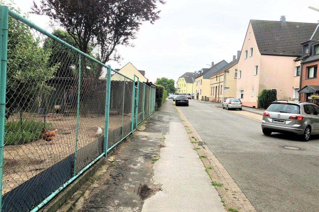 Die Grabeland-Anlage liegt nur ein Steinwurf von Wohnhäusern entfernt.