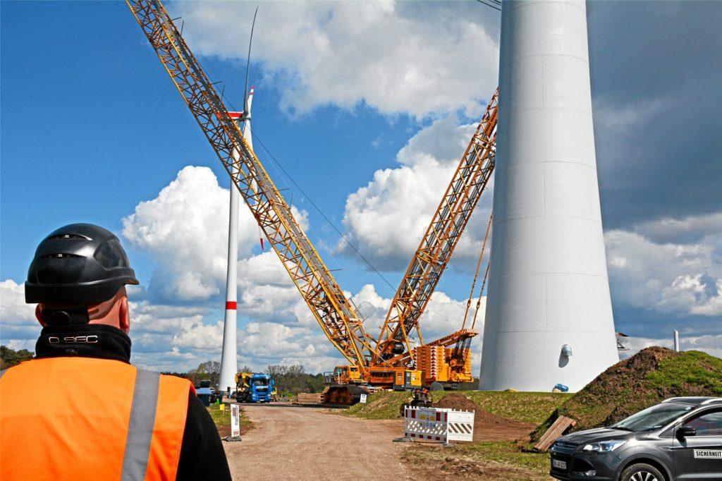 In Wendfeld und Hengeler wurden 2017 acht Windkraftanlagen errichtet.