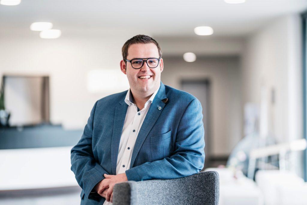 Mediahaus-Geschäftsführer Jan Hendrik Walfort ist stolz auf den bisher größten Transformationsprozess der Unternehmensgeschichte.