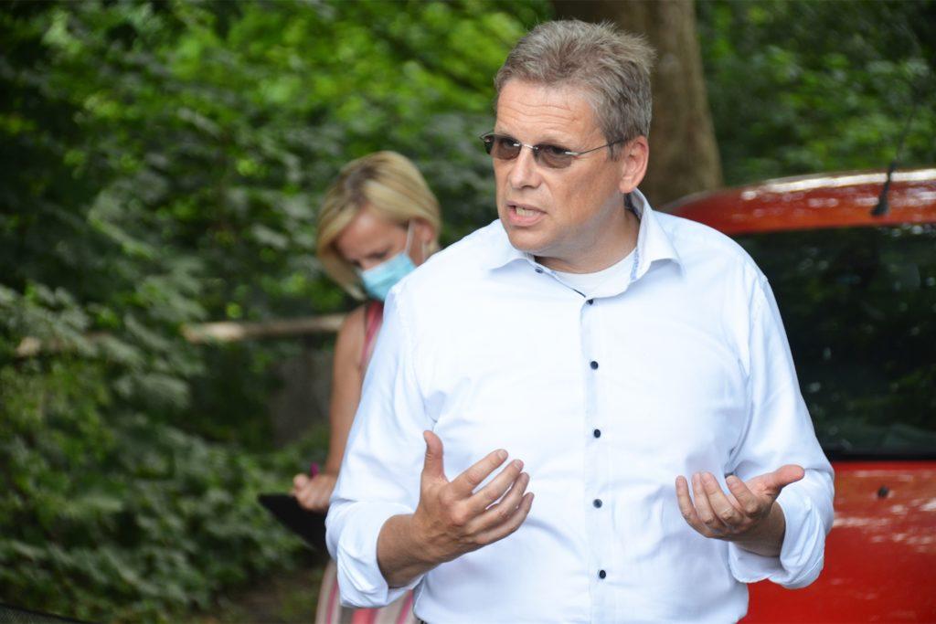 Baudezernent Arnulf Rybicki versprach eine Prüfung der WSA-Pläne durch die Stadt.