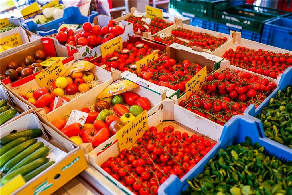 .... so gibt es beispielsweise auch viele verschiedene Tomatensorten.