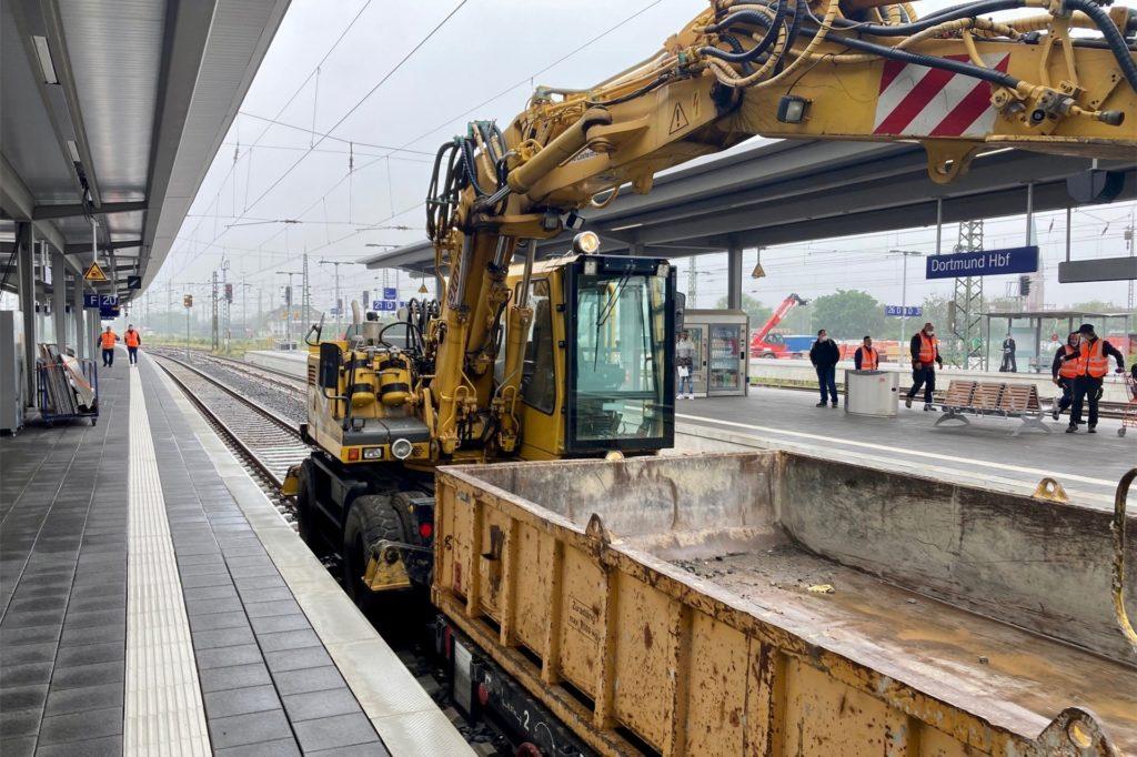 Bereit für die Eröffnung: Der neugestaltete Bahnsteig mit den Gleisen 18 und 20 kann ab dem 2.7. genutzt werden.